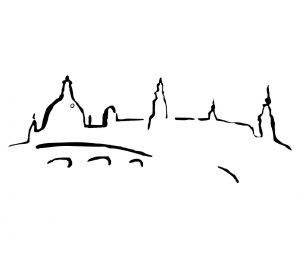 Stadt_0003 Dresden_Canalletto_Wandtattoo