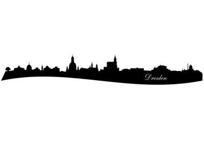 Stadt_0005 Dresden_silhouette_Wandtattoo