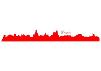 Stadt_0006 Dresden_silhouette_Wandtattoo