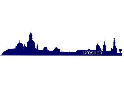 Stadt_0007 Dresden_silhouette_Wandtattoo