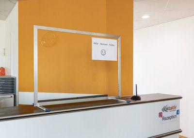 Corona-Wand-Wall-Schutzwand-Spuckschutz-Trennwand-Plexiglas-Schutzscheibe-Coronavirus