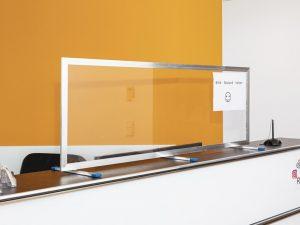Corona-Wand-Wall-Schutzwand-Spuckschutz-Trennwand-Schutzscheibe-Coronavirus-breit