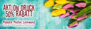Plakataktion-Frühling-50-Prozent-Rabatt-Poster-Leinwand-billig-guenstig-schnell-drucken