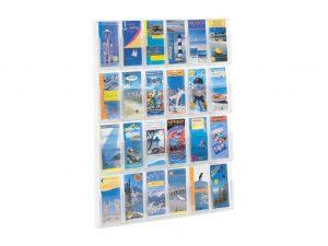 Wand-Prospekthalter-Flyerbox-DIN-lang-A4-12xFlyer