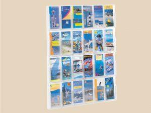 Wand-Prospekthalter-Flyerbox-Halter-DIN-lang-A4-12xFlyer