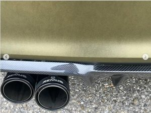 628-Carwrapping-Autofolie-gold-matt-HX30N71M-Heck