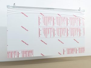Corona-Wand-Wall-20-Deckenschild-Schutzwand-Spuckschutz-Acrylglas-abgehangen-Decke