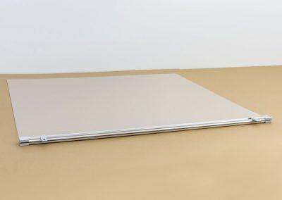 Corona-Wand-Wall-20-Schutzschild-Spuckschutz-Acrylglas-Halterung-Schiene-Schild-Decke