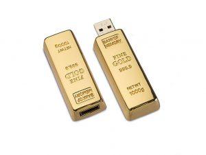 Gold-Barren-USB-Stick-Fine-Gold-Werbemittel-Gravur