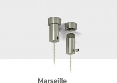 Schilder Deckenhalterung Edelstahl Schildhalter Decke Marseilles