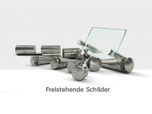 Schilderbefestigung-Schildhalter-Abstandshalter-Edelstahl-freistehende-Schilder