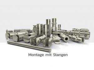 Schilderbefestigung-Schildhalter-Stangen-Edelstahl-Schilder-Schildersysteme