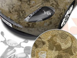 Autofolie-Camouflage-Armee-Sand-Tarnfarbe-Look-Carwrapping-Cardesign