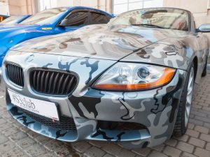 Autofolie-Carwrapping-Camouflage-Cardesign-Fahrzeugvollfolierung-Armee-military