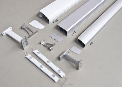 Lichtleisten-Profil-3-Varianten-Schilderbeleuchtung