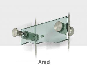 Schilder Deckenhalterung Edelstahl Schildhalter Decke Arad