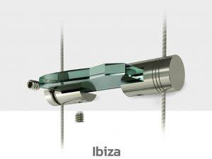 Schilder Deckenhalterung Edelstahl Schildhalter Decke Ibiza