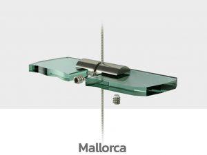Schilder Deckenhalterung Edelstahl Schildhalter Decke Mallorca