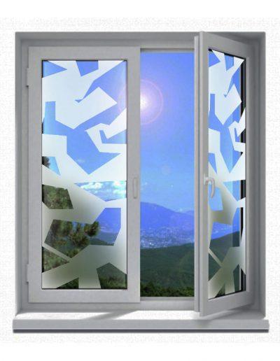 Sichtschutz-Glasdekor-Folienmotive-Camouflage-Armee-Tarnmuster-modern