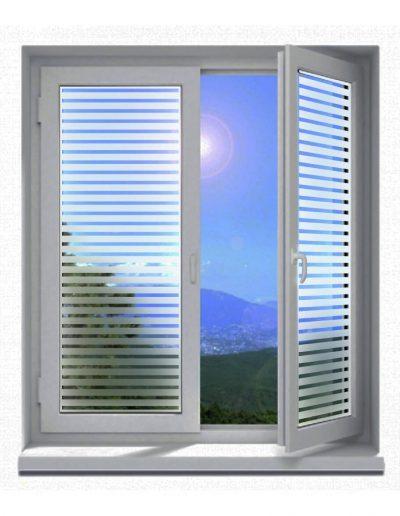 Sichtschutz-Glasdekor-Folienmotive-Streifen-Linien-quer