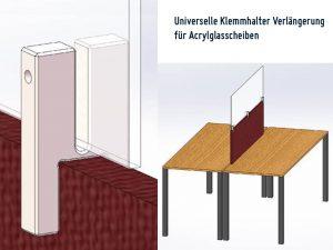 Universal-Klemmhalter-Verlaengerung-Corona-Trennwand-Klemme-Plexiglas