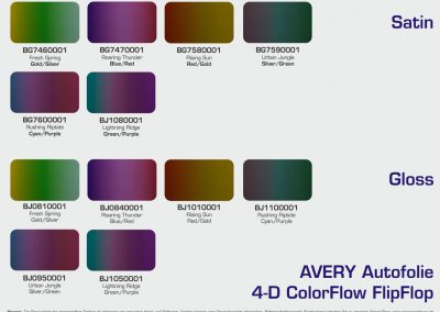 Avery-Autofolie-Farbuebersicht-ColorFlow-FlipFlop-Satin-Gloss