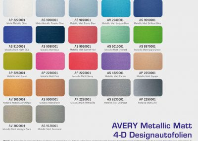 Avery-Design-Autofolien-Supreme Wrapping-Film-Metallic-Matt