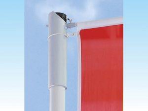 Fahnenmasten-Fahnenhalter-Fahnenrohr-Typ-D-mit-hissbaren-Ausleger