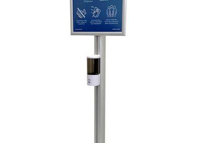Spender-mit-Sensor-Coronavirusschutz-Klapprahmen-Plakat-DIN-A2-frame-Infostaender-852
