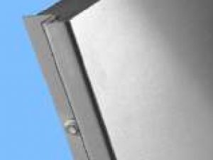 Wandschild-Wand-Display-Edelstahl-V2A-Firmenschilder-Kante-geschlossen