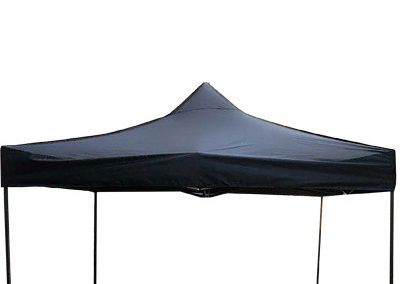 Faltpavillion-Event-Zelt-Einfach-schwarz-470-POS-Werbung-Event-Veranstaltung-Feier