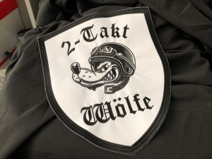 492-Emblem-Patch-sticken-Wolf-fuer-Lederjacke