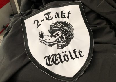 492-Emblem-Patch-sticken-Wolf-fuer-Lederjacke