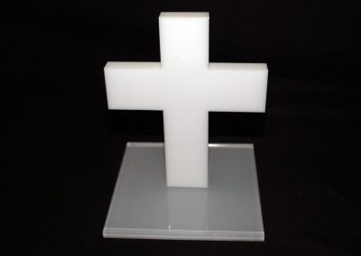 530-Pokal-Aufsteller-Geschenk-Kirche-Kreuz