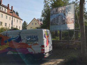 679-Bauschild-guenstig-kaufen-Alurohrgestell-zur-Selbstmontage-bundesweit