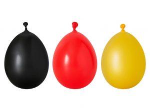Luftballons-rot-schwarz-gelb-Deutschland-Farben-bedruckt-Logo-Spruch