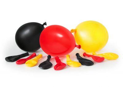 Luftballons-rot-schwarz-gelb-Deutschland-Werbemittel-bedrucken