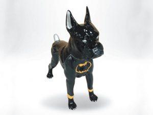 3-D-Figur-Tier-Plastik-Boxer-stehend-Butman