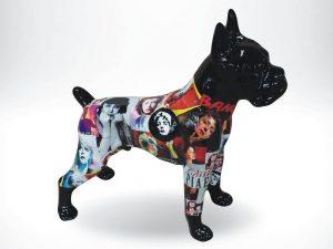 3-D-Figur-Tier-Plastik-Boxer-stehend-Pop-Ikonen-Idole