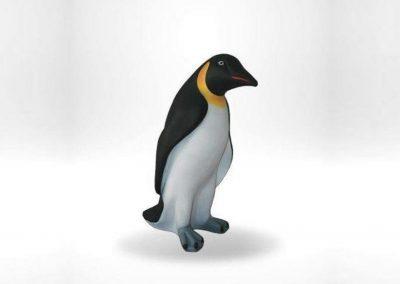 3-D-Figur-Tier-Plastik-Pinguin-Glasfaserkunststoff-Natur