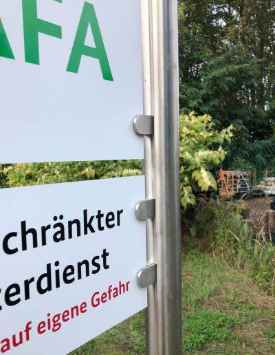 680-Aufsteller-Parkplatzbeschilderung-Parkplatzschild-Edelstahl