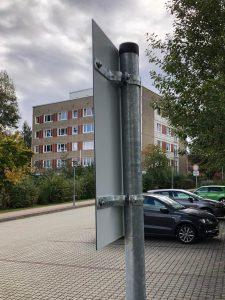 680-Rohrpfosten-Befestigung-Schelle-Verkehrszeichen-Strassenverkehr