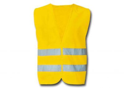 Wegas-fashion-Warnweste-Signal-Neon-Gelb-zwei-Reflexstreifen-Klassiker