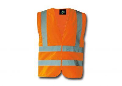 Wegas-fashion-Warnweste-Signal-Neon-Orange-Vier-Reflexstreifen