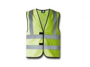 Wegas-fashion-Warnweste-hell-gruen-Vier-Reflexstreifen