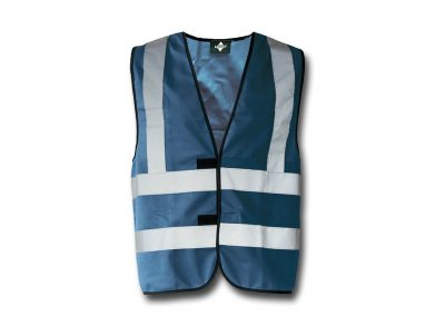 Wegas-fashion-Warnweste-navy-blau-Vier-Reflexstreifen