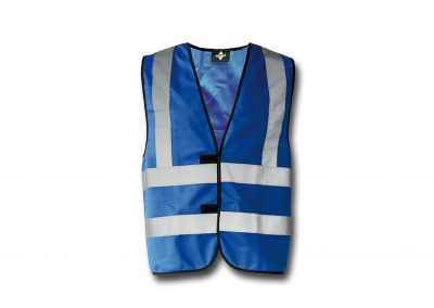 Wegas-fashion-Warnweste-roayl-blau-Vier-Reflexstreifen