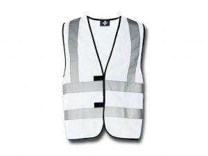 Wegas-fashion-Warnweste-weiss-Vier-Reflexstreifen