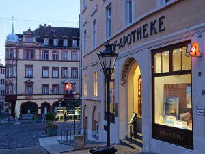 683-Leuchtbuchstabe-A-Hof-Apotheke-Altenburg-Sachsen-LED-Ausleger