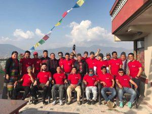 Hilfe Schule Kathmandu Nepal fuer Kinder Lehrer von wegaswerbung